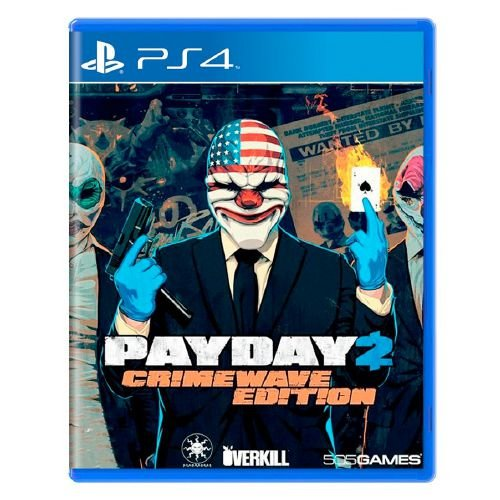 Payday 2 (Crimewave Edition) Seminovo - PS4