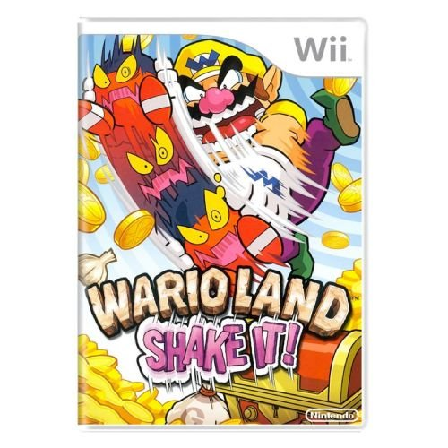 Wario Land: Shake It! Seminovo - Wii