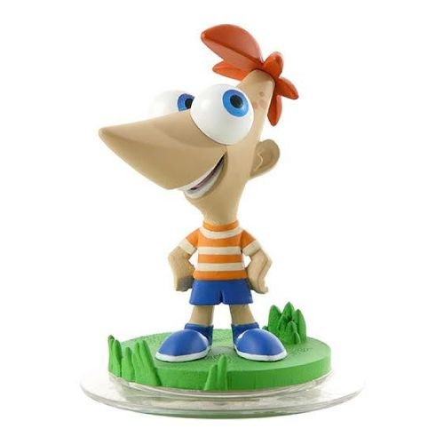Boneco Disney Infinity 1.0: Phineas - Seminovo