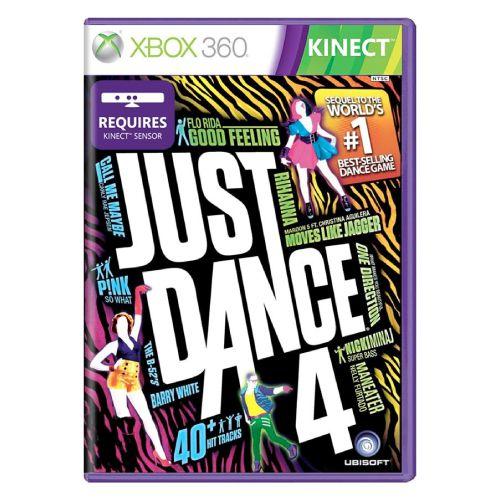 Just Dance 4 Seminovo - Xbox 360