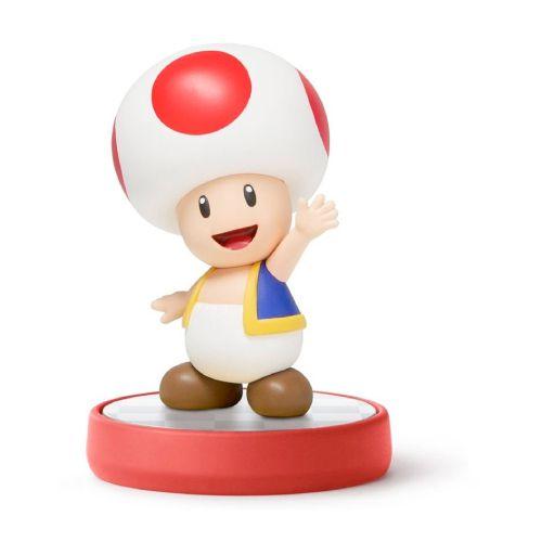Amiibo: Toad - Super Mario - Seminovo