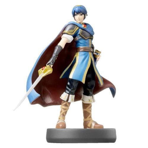 Amiibo: Marth - Super Smash Bros - Seminovo