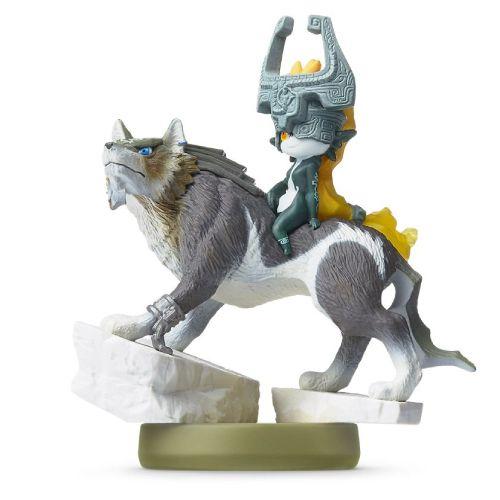 Amiibo: Wolf Link - The Legend of Zelda - Seminovo