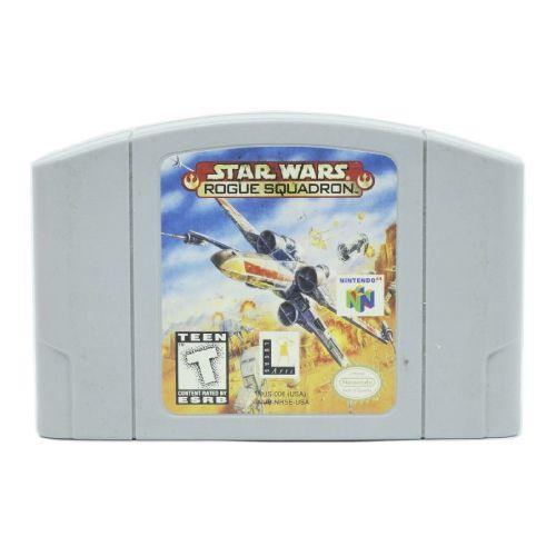 Star Wars: Rogue Squadron Seminovo - N64 - Nintendo 64