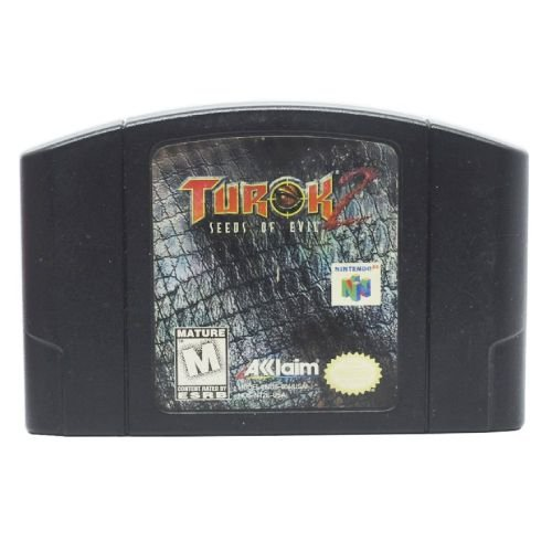 Turok 2: Seeds of Evil Seminovo - N64 - Nintendo 64