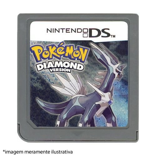 Pokémon Diamond Version Seminovo (SEM CAPA) - Nintendo DS