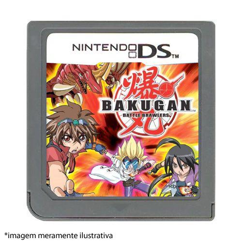 Bakugan Battle Brawlers Seminovo (SEM CAPA) - Nintendo DS