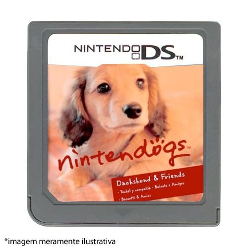 Nintendogs: Dachshund & Friends Seminovo (SEM CAPA) - Nintendo DS