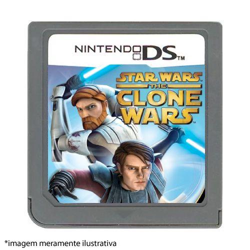 Star Wars The Clone Wars: Jedi Alliance Seminovo (SEM CAPA) - Nintendo DS