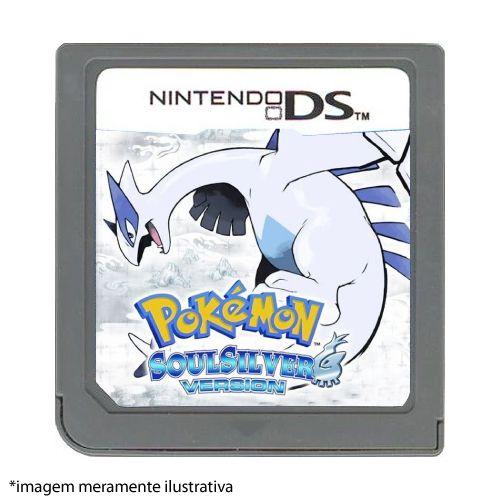 Pokémon: SoulSilver Version Seminovo (SEM CAPA) - Nintendo DS