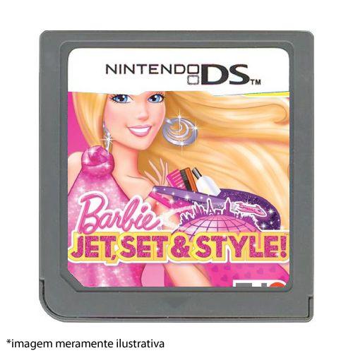 Barbie Jet, Set & Style! Seminovo (SEM CAPA) - Nintendo DS