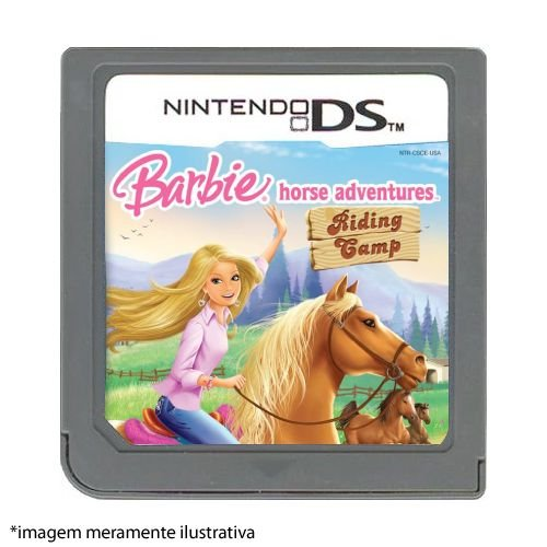 Barbie Horse Adventures: Riding Gamp Seminovo (SEM CAPA) - Nintendo DS