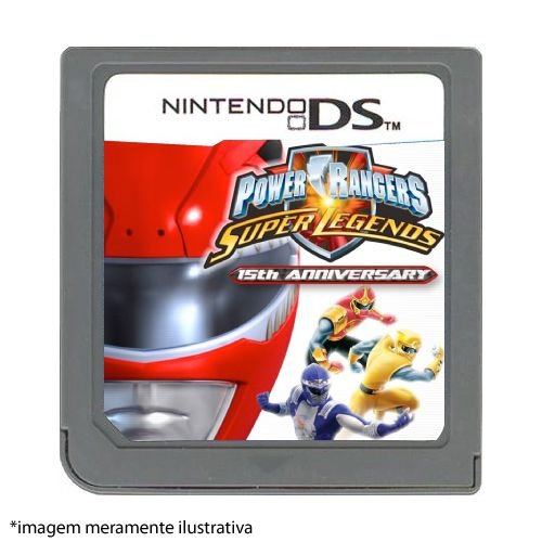 Power Rangers Super Legends Seminovo (SEM CAPA) - Nintendo DS