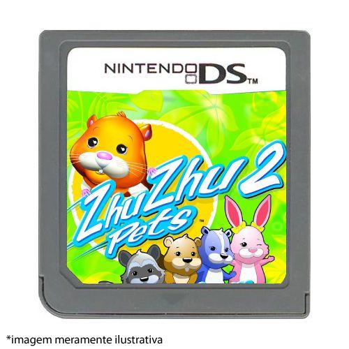 Zhu Zhu Pets 2: Wild Bunch Seminovo (SEM CAPA) - Nintendo DS