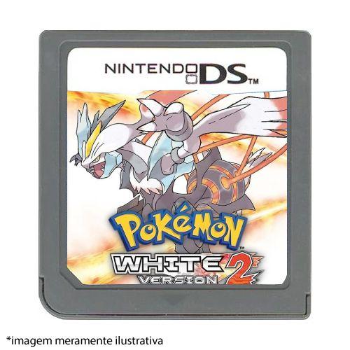 Pokémon White Version 2 Seminovo (SEM CAPA) - Nintendo DS