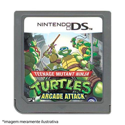Turtles Arcade Attack Seminovo (SEM CAPA) - Nintendo DS