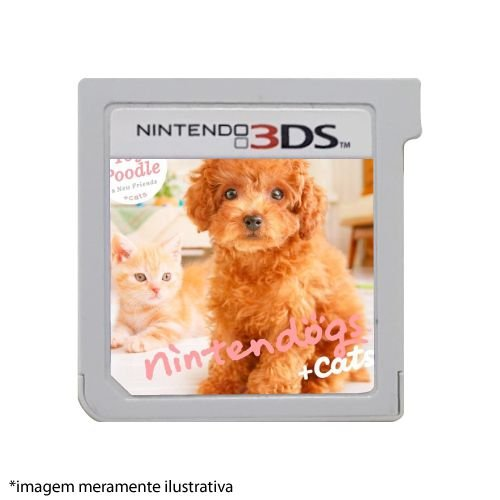 Nintendogs + Cats: Toy Poodle & New Friends Seminovo (SEM CAPA) - 3DS