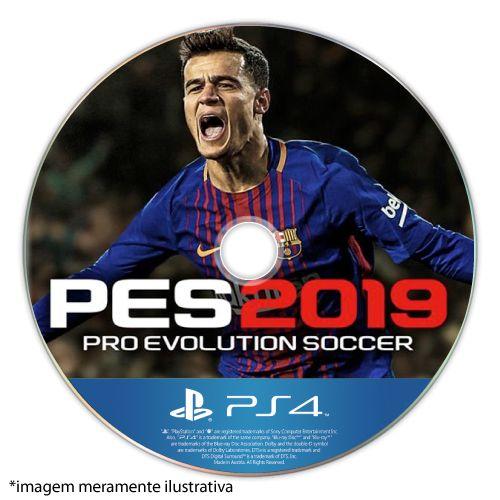 Pro Evolution Soccer 2019 (PES 2019) Seminovo (SEM CAPA) - PS4