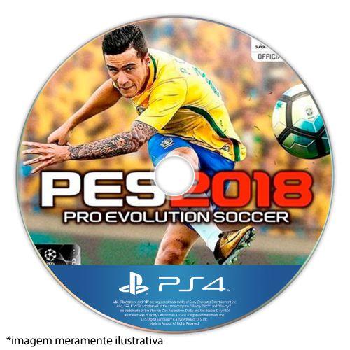 Pro Evolution Soccer 2018 (PES 18) Seminovo (SEM CAPA) - PS4