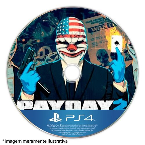 Payday 2 (Crimewave Edition) Seminovo (SEM CAPA) - PS4