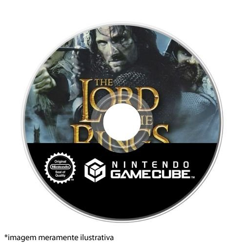 The Lord of the Rings: The Two Towers Seminovo (SEM CAPA) - GameCube