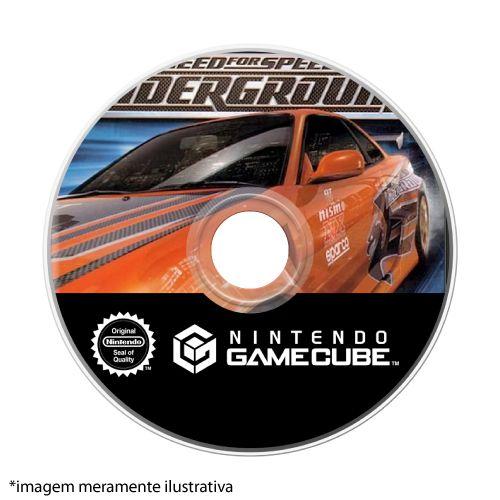 Need for Speed Underground Seminovo (SEM CAPA) - GameCube