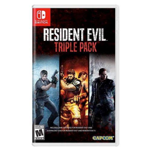 Resident Evil Triple Pack Seminovo (Acompanha somente o Resident Evil 4) - Nintendo Switch