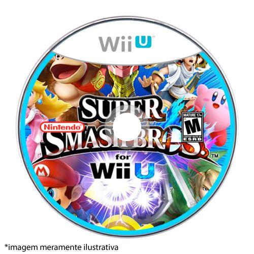 Super Smash Bros Seminovo (SEM CAPA) - Wii U