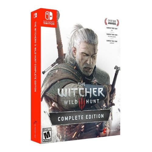 The Witcher 3: Wild Hunt (Complete Edition) Seminovo - Switch