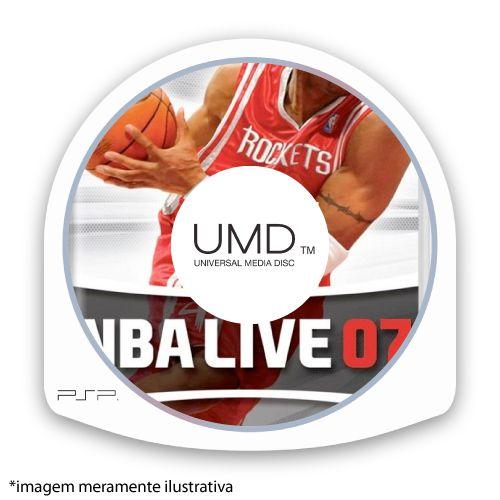 NBA Live 07 (SEM CAPA) Seminovo - PSP