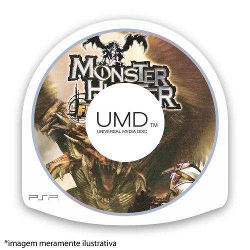 Monster Hunter Freedom (SEM CAPA) Seminovo - PSP