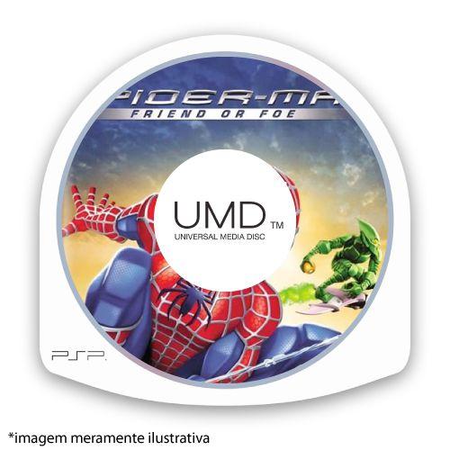 Spider-Man: Friend or Foe (SEM CAPA) Seminovo - PSP