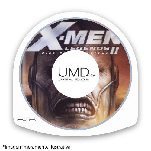 X-Men Legends II: Rise of Apocalypse (SEM CAPA) Seminovo - PSP