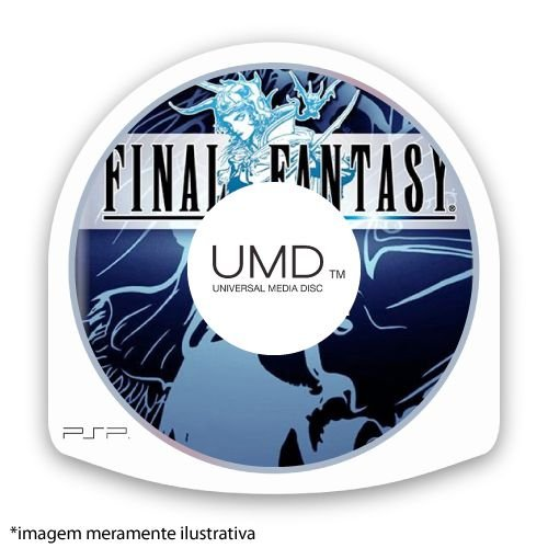 Final Fantasy Anniversary Edition (SEM CAPA) Seminovo - PSP
