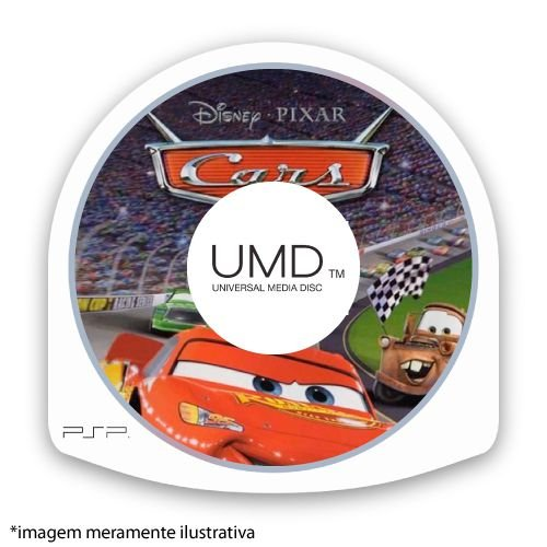 Cars (SEM CAPA) Seminovo - PSP