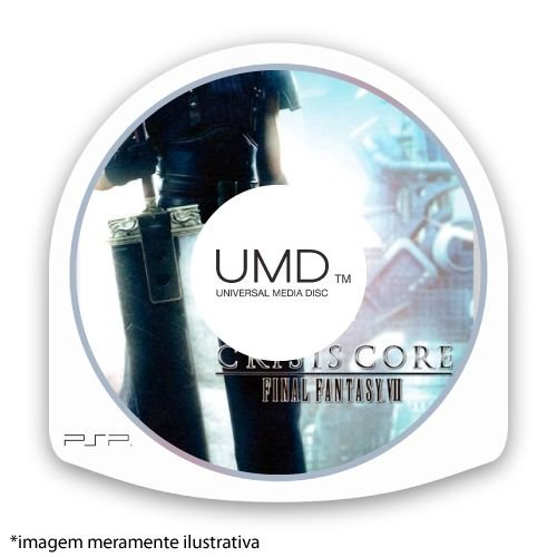 Crisis Core: Final Fantasy VII (SEM CAPA) Seminovo - PSP