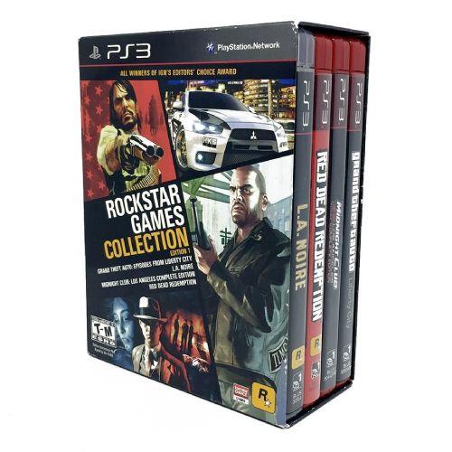 Rockstar Games Collection Bundle (Edition 1) Seminovo - PS3