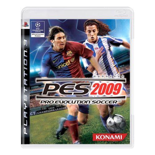 Pro Evolution Soccer 2009 (PES 09) Seminovo - PS3