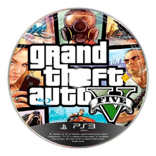Grand Theft Auto V (GTA V) (SEM CAPA) Seminovo - PS3