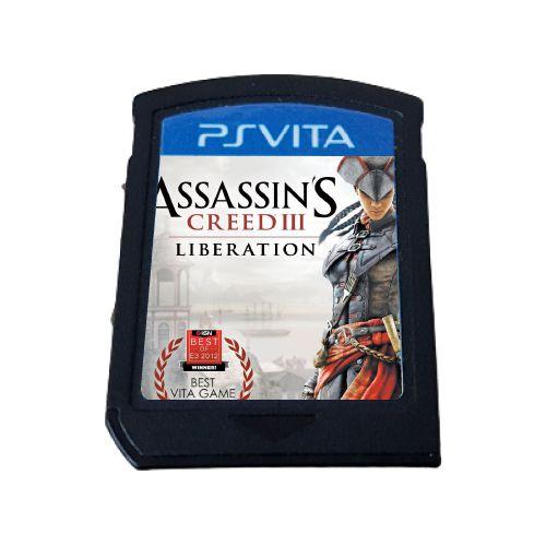 Assassin's Creed III: Liberation (SEM CAPA) Seminovo - PS Vita