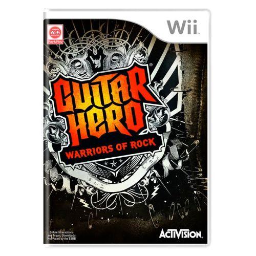 Guitar Hero: Warriors of Rock - Nintendo Wii