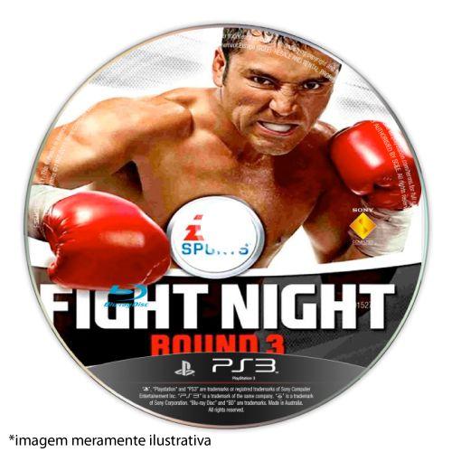 Fight Night Round 3 (SEM CAPA) Seminovo - PS3