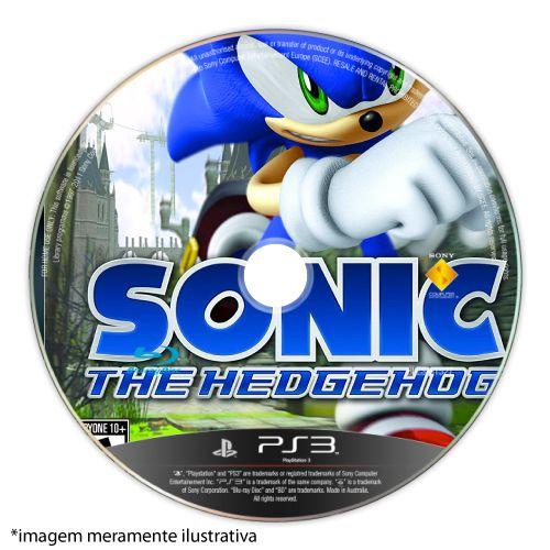 Sonic The Hedgehog (SEM CAPA) Seminovo - PS3