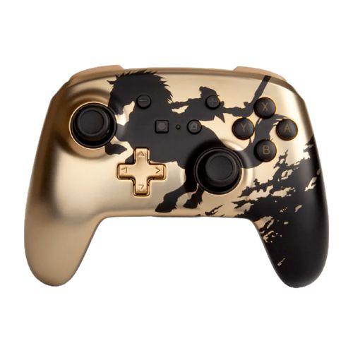 Controle PowerA Enhanced Wireless Zelda Gold Rider - Nintendo Switch