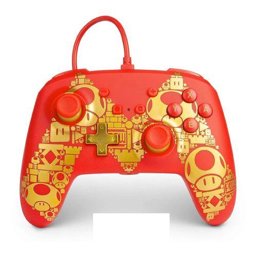 Controle PowerA Enhanced Wired Super Mario - Nintendo Switch
