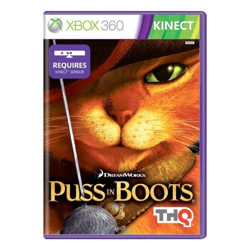 Puss in Boots Seminovo - Xbox 360
