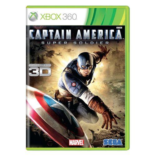Captain America: Super Soldier Seminovo - Xbox 360