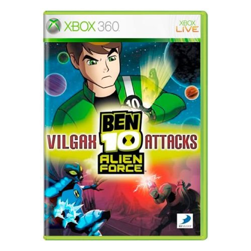 Ben 10: Alien Force Vilgax Attacks Seminovo - Xbox 360