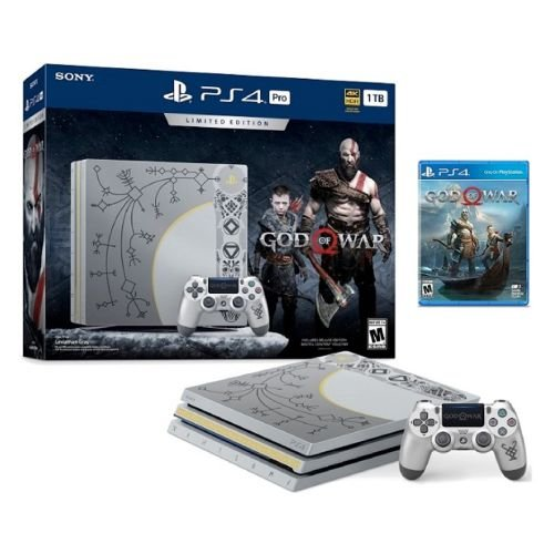 Console PlayStation 4 Pro 1TB (Edição God of War) Seminovo - Sony