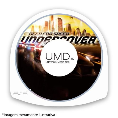 Need for Speed Undercover (SEM CAPA) Seminovo - PSP
